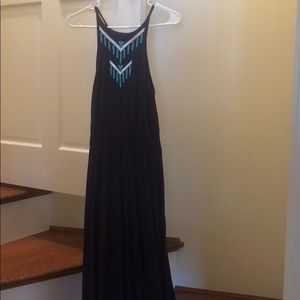 Size S fits like M Cotton Rolla Coster Maxi Dress